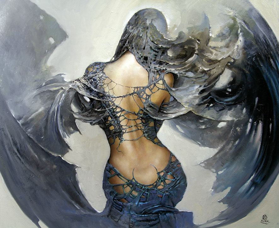 Between Dawn and Dusk Cycle by Artist Karol Bak (10)